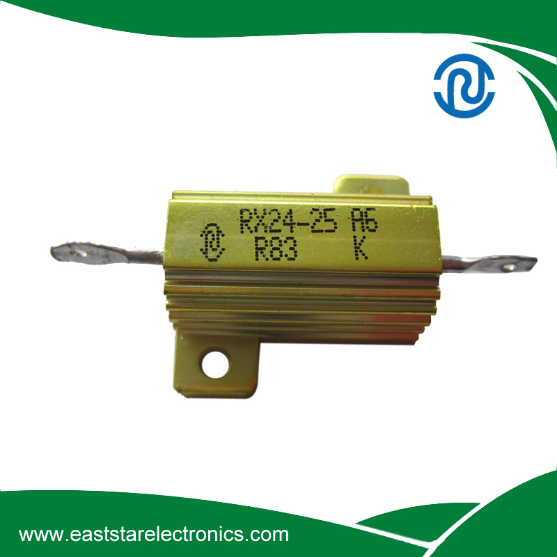 RX24-25W0.83RJ,RX24 Aluminum Housed Wirewound Resistors
