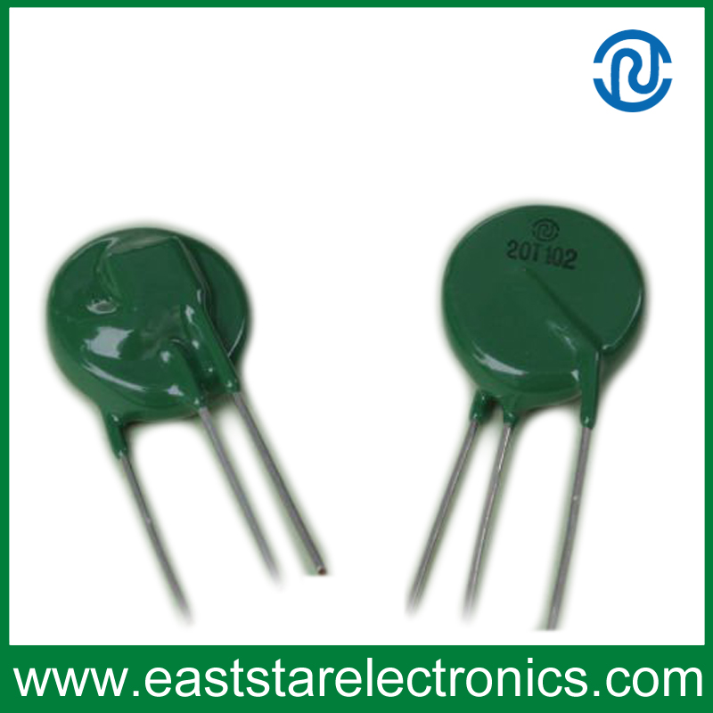 Thermally Protected Varistor Tmov 20t102 Metal Oxide